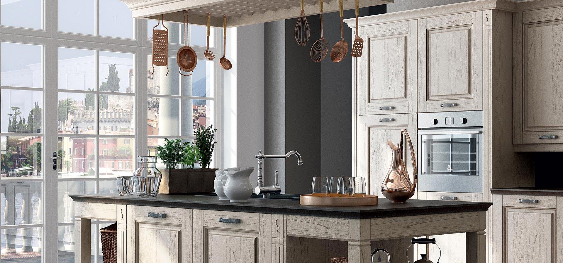 Arredamenti cucine classiche e moderne minoia arreda for Meka arredamenti cucine