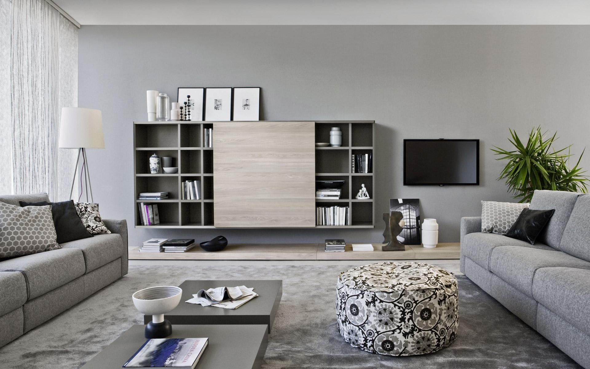 Stunning Arredamento Soggiorni Moderni Ideas - Idee Arredamento Casa ...