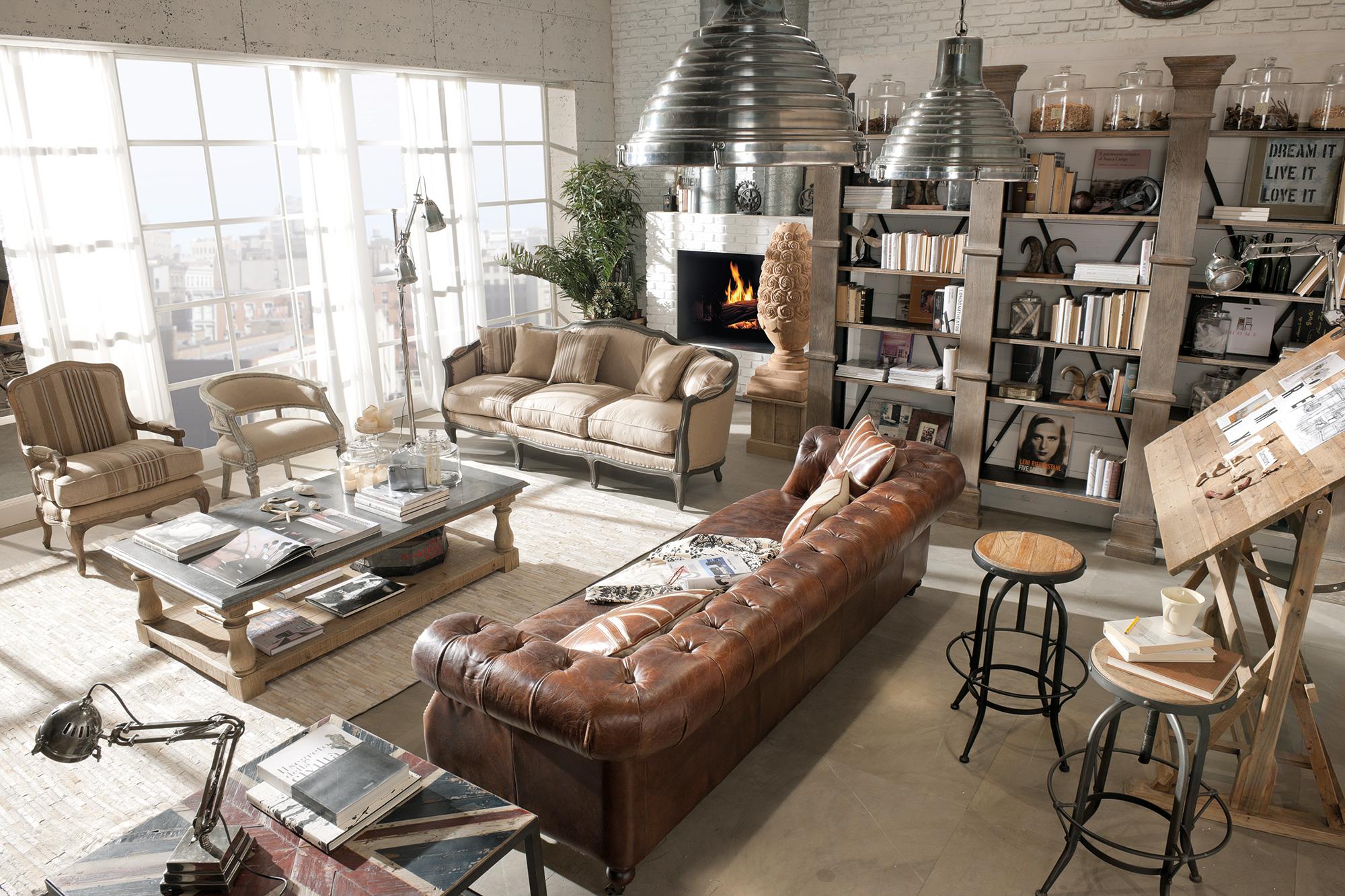 Arredamento country vintage industrial loft urban shabby chic - Idee Di Arredo Mobili E Prodotti Di Design